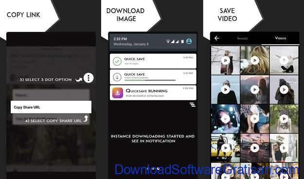 Aplikasi Download Foto & Video Instagram untuk Android - Quick Save