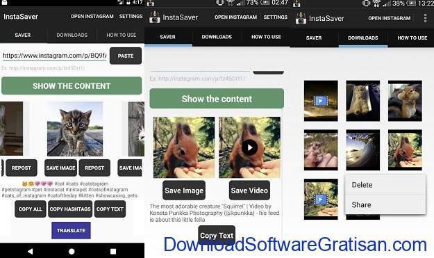Aplikasi Download Foto & Video Instagram untuk Android - Saver Reposter for Instagram