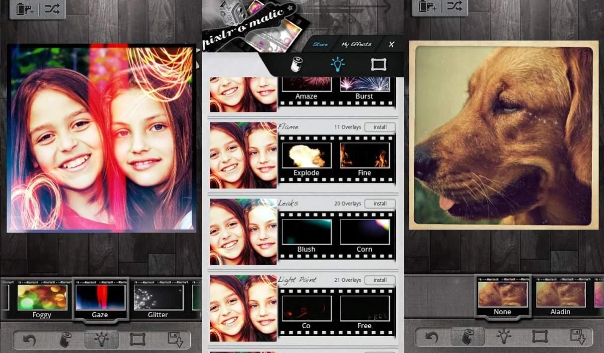 Aplikasi Edit Foto & Gambar Terbaik Android Pixlr-o-matic