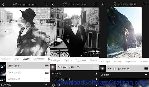 Aplikasi Edit Foto Gratis Terbaik untuk iPhone Lens Distortions