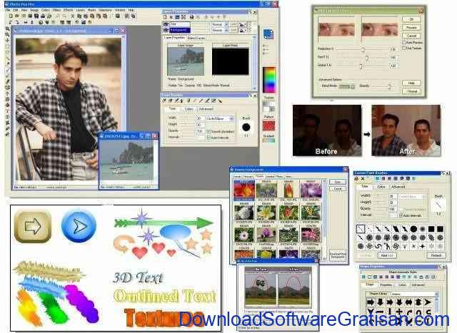 Aplikasi Edit Foto Gratis untuk PC Photo Pos Pro