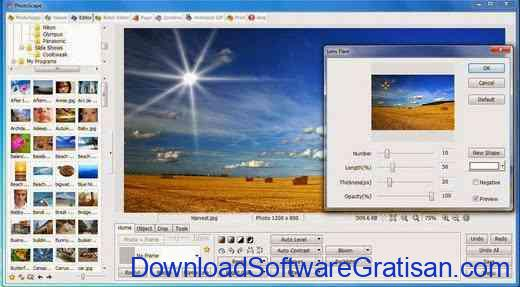 Download Aplikasi Edit Foto Gratis untuk PC Photoscape