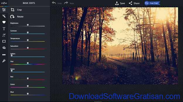 Aplikasi Edit Foto Online PiZap