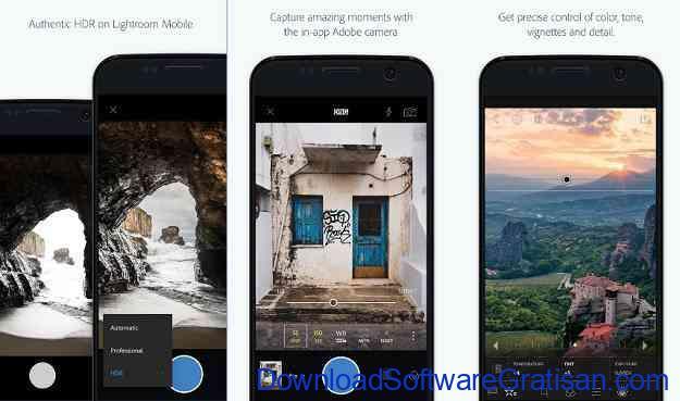 Aplikasi Edit Foto Terbaik untuk Android Adobe Lightroom