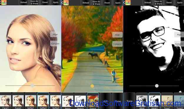 Aplikasi Edit Foto Terbaik untuk Android Bonfire