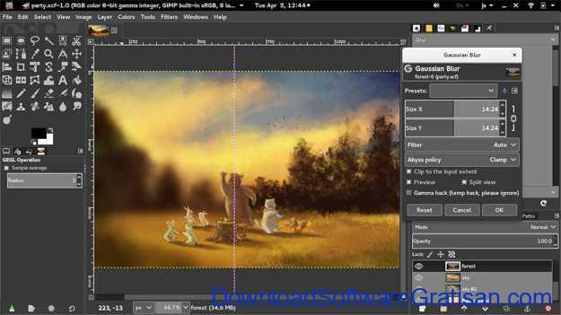 Best Photo Editing App for PC GIMP