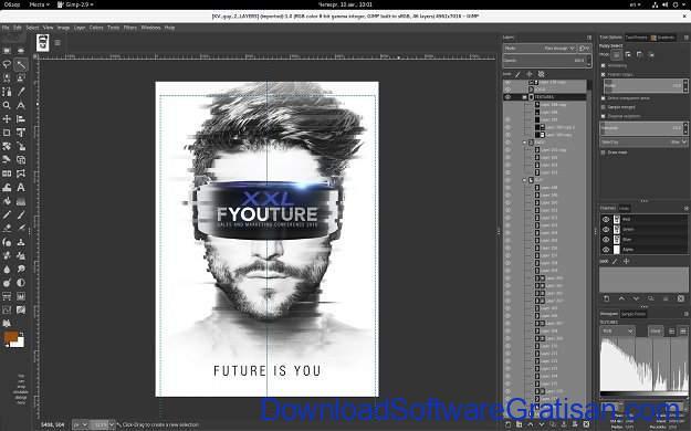Aplikasi Edit Gambar GRATS untuk PC GIMP