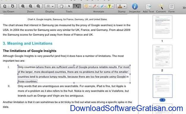 Aplikasi Edit PDF Gratis untuk macOS Foxit Reader for Mac