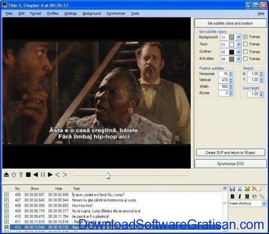 Aplikasi Edit Subtitle Gratis SubtitleCreator