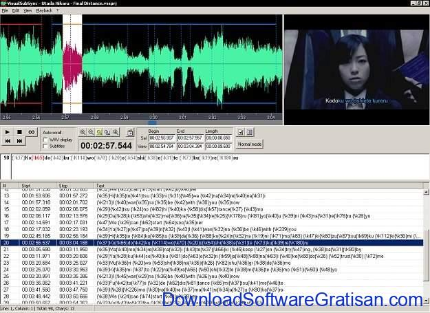 Aplikasi Edit Subtitle Gratis VisualSubSync