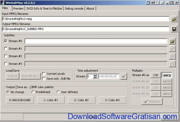 Aplikasi Edit Subtitle Gratis WinSubMux