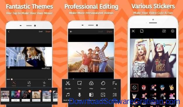 Aplikasi Edit Video Android Viva Video