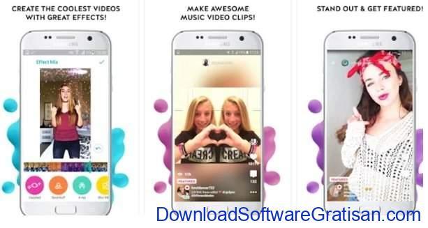 Aplikasi Edit Video Gratis Terbaik untuk Android Funimate