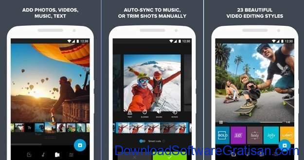 Aplikasi Edit Video Gratis Terbaik untuk Android Quik