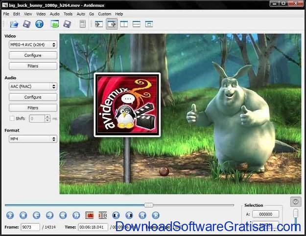 Aplikasi Edit Video Gratis Terbaik untuk MacBook Avidemux