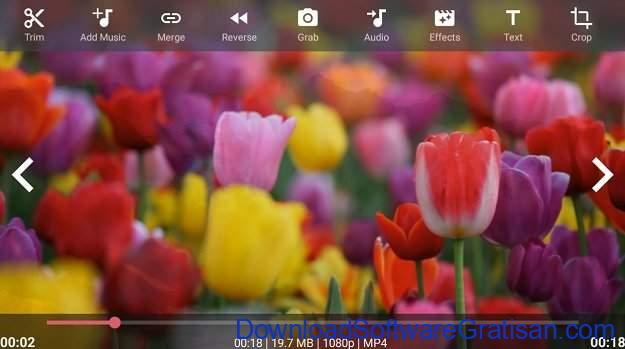 Aplikasi Edit Video Slow Motion Gratis Terbaik AndroVid