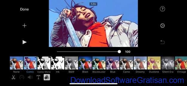 Aplikasi Edit Video Terbaik untuk iPhone dan iPad - iMovie