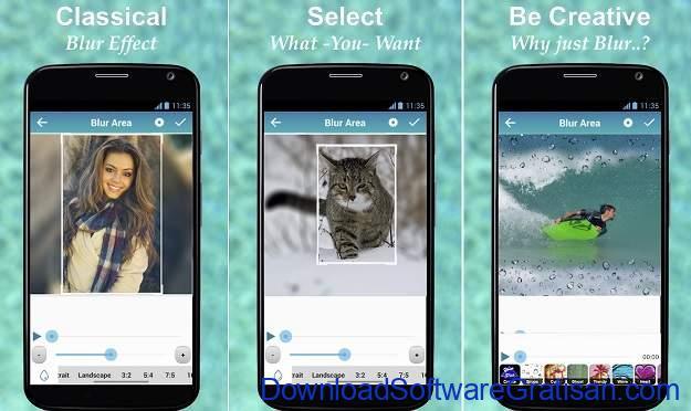 Aplikasi Efek Bokeh Android Terbaik - Blur Video