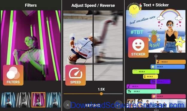 Aplikasi Efek Bokeh Android Terbaik - iShot Video Editor