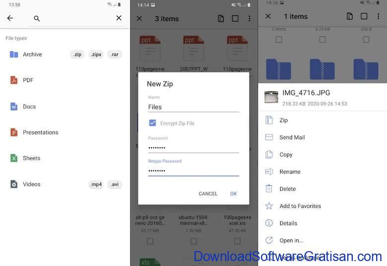 Aplikasi Ekstrak & Membuat File Zip RAR Terbaik - WinZip