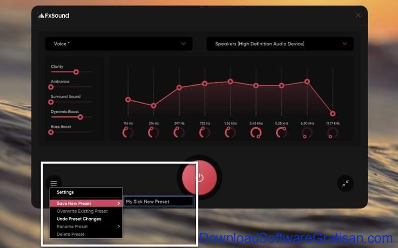 Aplikasi Equalizer PC Windows Gratis Terbaik FX Sound