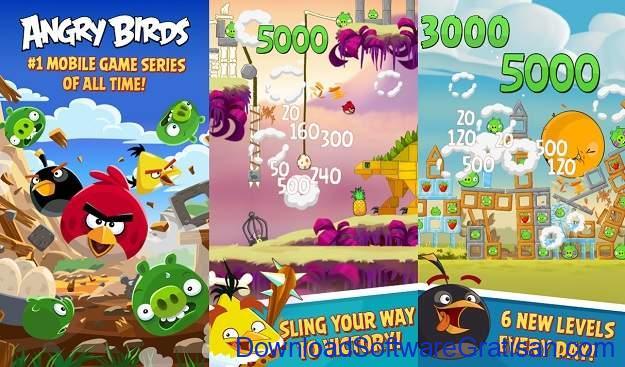 Aplikasi Game Cewek Terbaik Android - Angry Birds