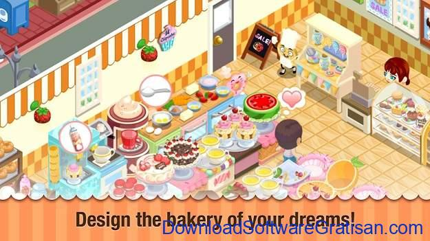 Aplikasi Game Cewek Terbaik Android - Bakery Story™