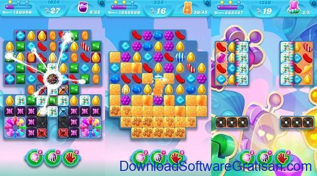 Aplikasi Game Cewek Terbaik Android - Candy Crush Soda Saga