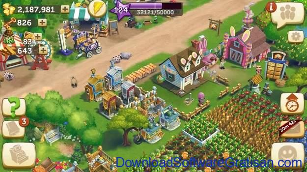 Aplikasi Game Cewek Terbaik Android - FarmVille 2 Country Escape