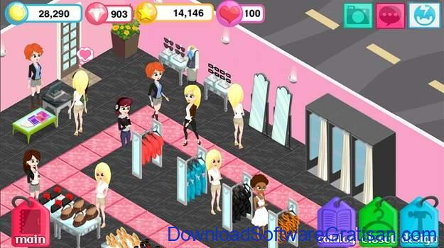 Aplikasi Game Cewek Terbaik Android - Fashion Story