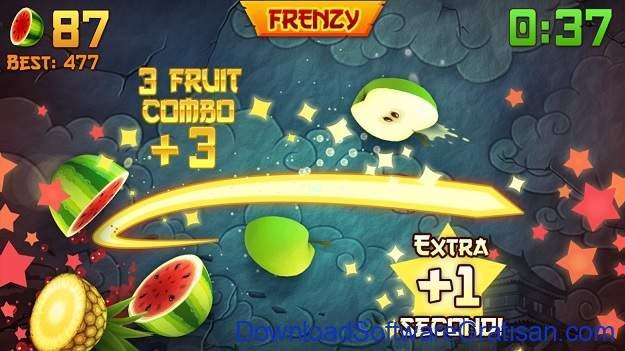 Aplikasi Game Cewek Terbaik Android - Fruit Ninja