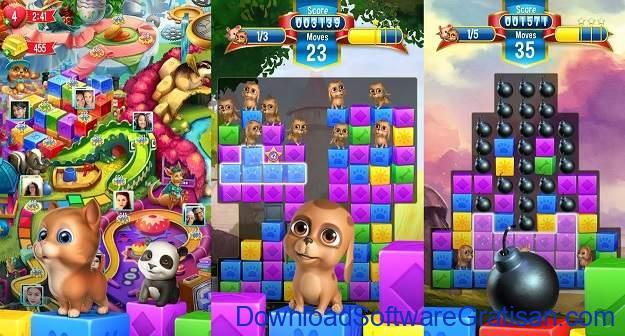 Aplikasi Game Cewek Terbaik Android - Pet Rescue Saga