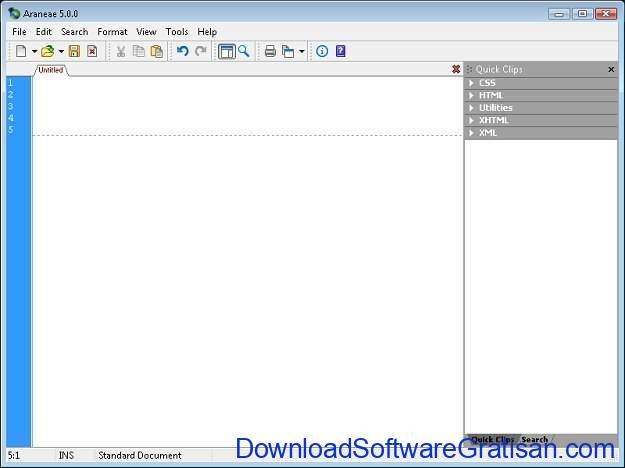 Aplikasi Gratis Terbaik untuk Edit XML Araneae