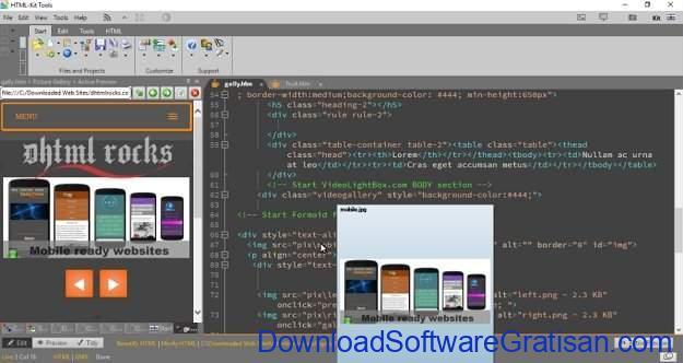 Aplikasi Gratis Terbaik untuk Edit XML HTML-Kit