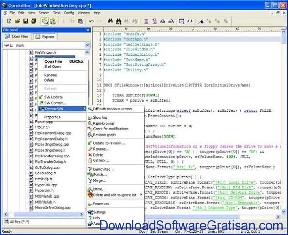 Aplikasi Gratis Terbaik untuk Edit XML OpenEditor