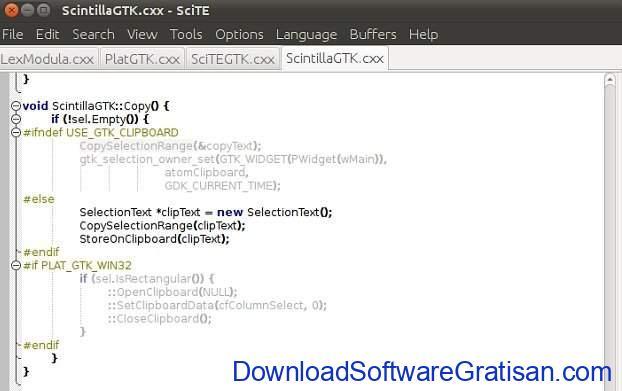 Aplikasi Gratis Terbaik untuk Edit XML SciTE