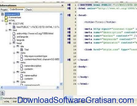 Aplikasi Gratis Terbaik untuk Edit XML Webocton Scriptly