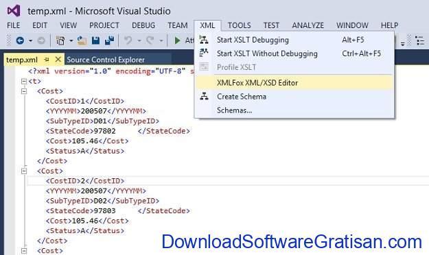 Aplikasi Gratis Terbaik untuk Edit XML XMLFox