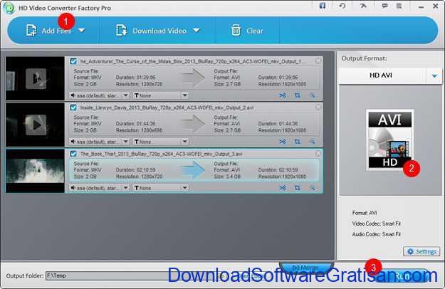 Aplikasi Gratis terbaik untuk Convert Video Free HD Video Converter Factory