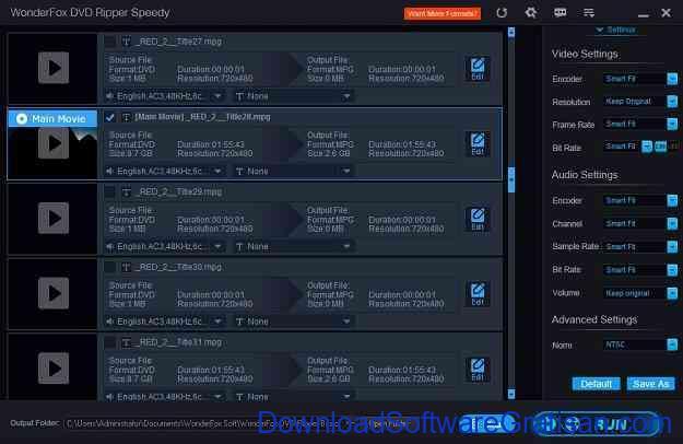 Aplikasi Gratis untuk Copy DVD WonderFox DVD Ripper Speedy Screenshoot