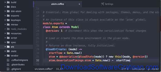 Aplikasi Gratis untuk Web Developer Atom