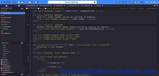 Aplikasi Gratis untuk Web Developer Komodo Edit