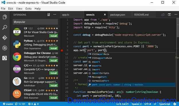 Aplikasi Gratis untuk Web Developer Visual Studio Code