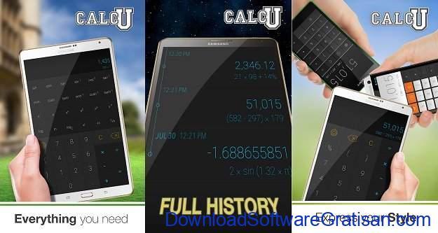 Aplikasi Kalkulator Terbaik untuk Android Calcu