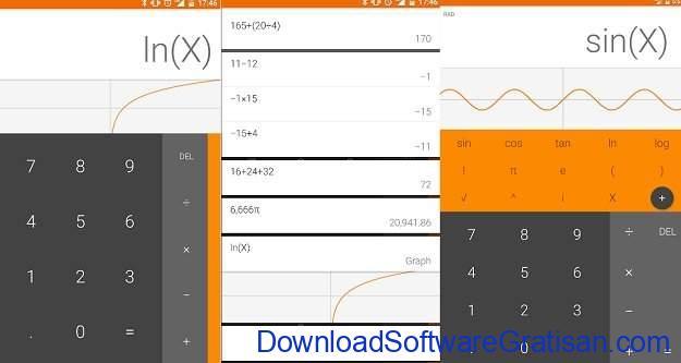 Aplikasi Kalkulator Terbaik untuk Android Calculator dari Xlythe