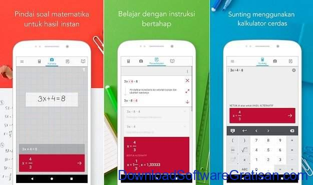 Aplikasi Kalkulator Terbaik untuk Android Photomath