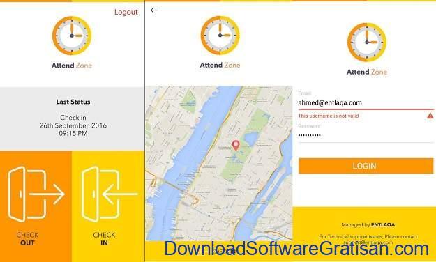 Aplikasi Kehadiran Android Terbaik - AttendZone