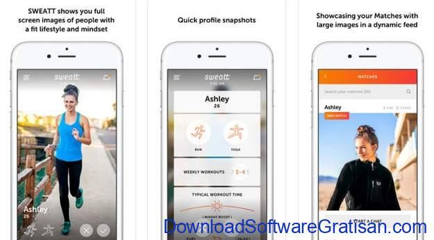 Aplikasi Kencan Terbaik untuk Android & iOS Sweatt