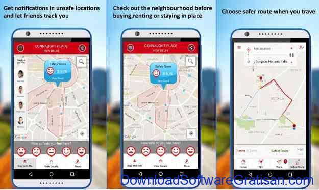 Aplikasi Keselamatan Wanita Terbaik untuk Android Safetipin