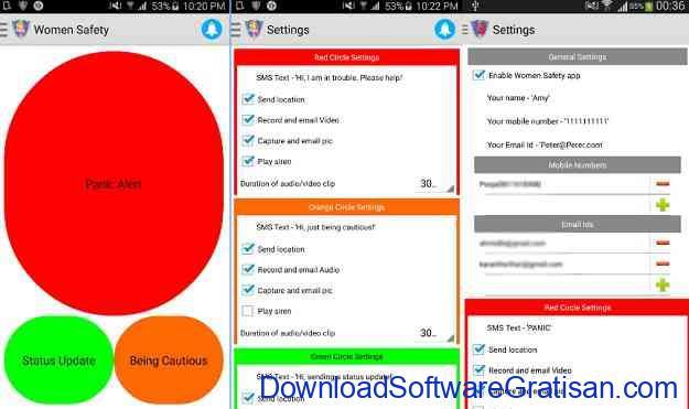 Aplikasi Keselamatan Wanita Terbaik untuk Android Women Safety